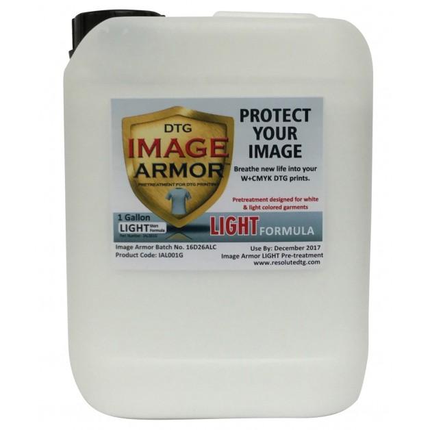 Image Armor light shirt pre-treatment