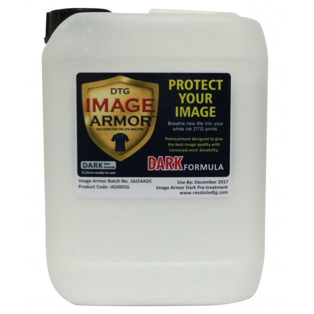Image Armor dark shirt pre-treatment