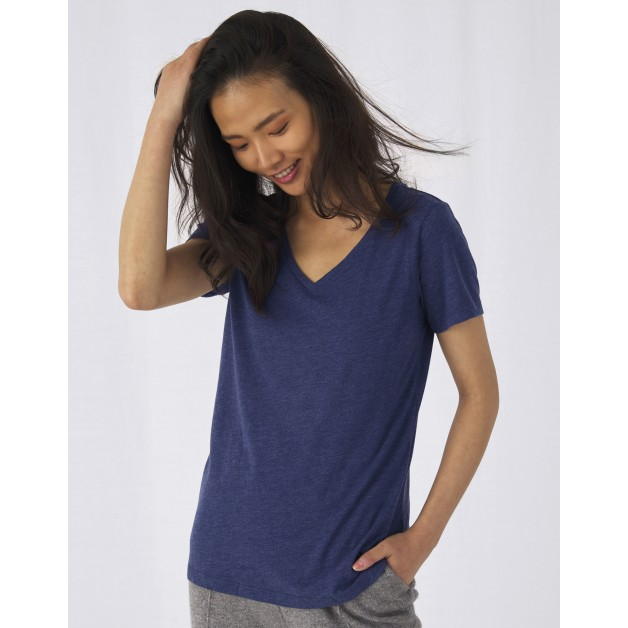 "Sieviešu t-krekls ""V Triblend/women T-Shirt"""