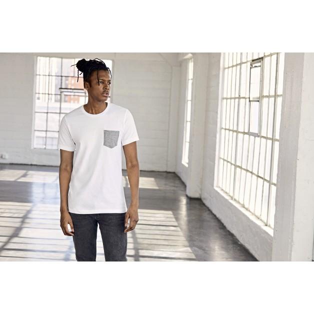"Vīriešu t-krekls ""BELLA+CANVAS Men's Jersey Pocket T-Shirt"""