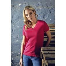 """Sieviešu t-krekls ar V veida izgriezumu """"Promodoro Women`s Rib V-Neck-T"""""""