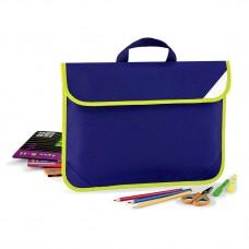 """Soma zīmējumiem """"Quadra Enhanced-Viz Book Bag"""""""
