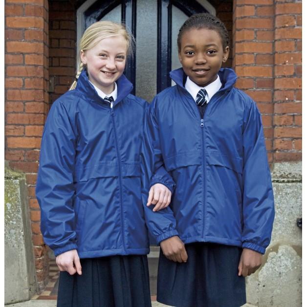 "Rudens/pavasara jaka bērniem ""Result Junior Microfleece Lined Jacket"""