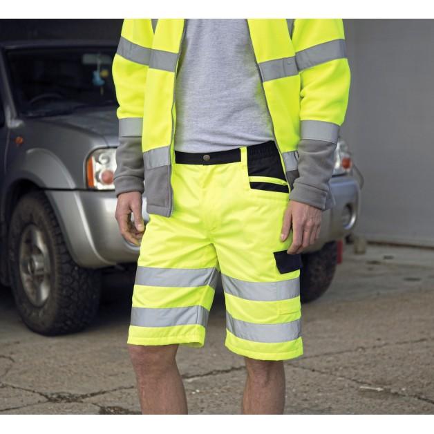 "Atstarojošie šorti ""SAFE GUARD by Result Safety Cargo Shorts"""