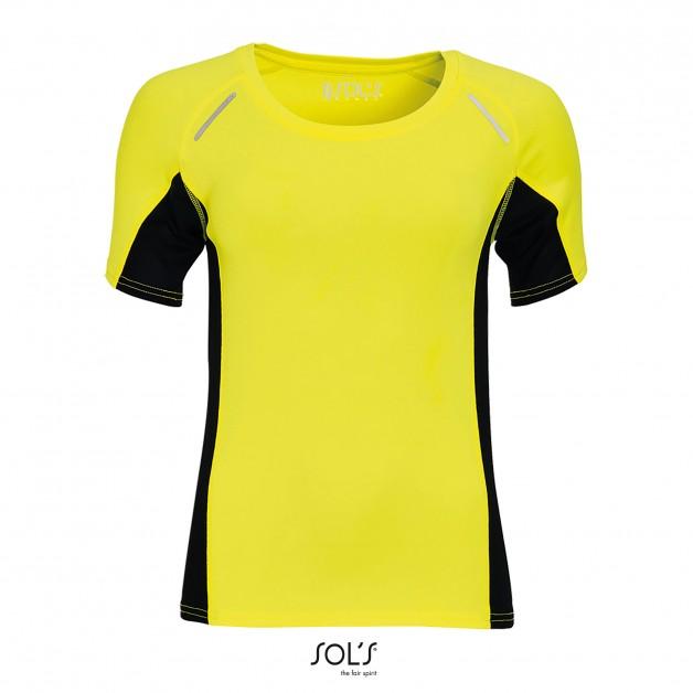 """Sieviešu tops skriešanai """"SOL'S Women`s Short Sleeve Running Shirt Sydney"""""""