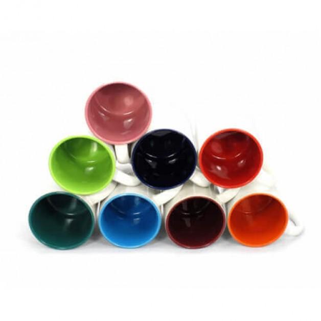 """Krāsaina sublimācijas krūze 330ml """"Mug with color interior Sublimation Thermal Transfer"""""""